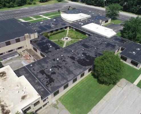 COMMERCIAL ROOF REPLACEMENT GLENWOOD SCHOOL - BOARDMAN, OH