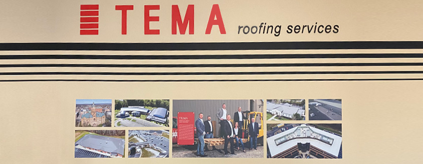 The Builders Association Highlights TEMA Roofing.