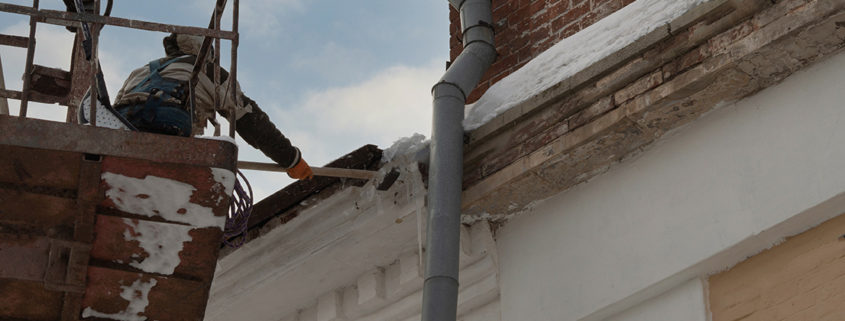 Roof inspection as part of a Roof Asset Management program.